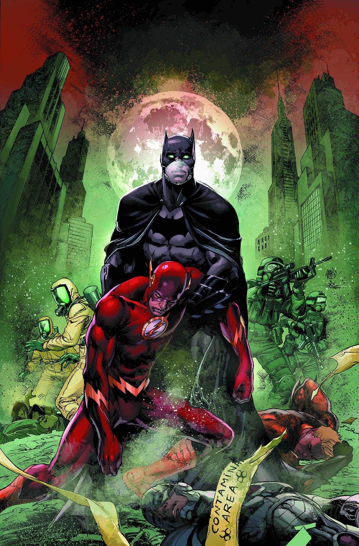 Dc Comics Justice League : Just what is a patient zero anyway