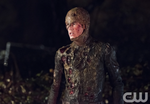 """The Flash, after getting hit with """"weaponized phosphorous"""""""