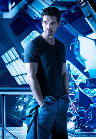 A product of eight parents, Steven Strait stars as Jim Holden on SyFy's The Expanse