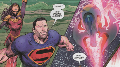 Shooting Jupiter in Superman - Can You Make a Star?