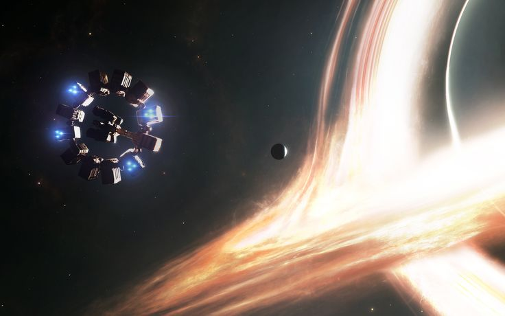 Interstellars massive black hole - Gargantua