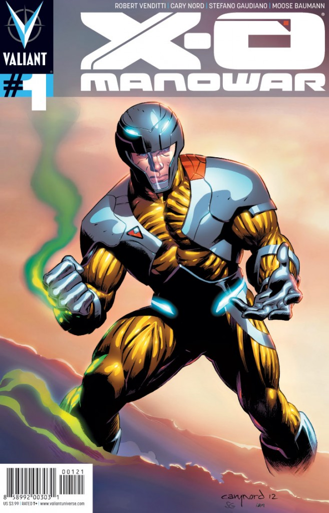 X-O Manowar #1 (c) Valiant