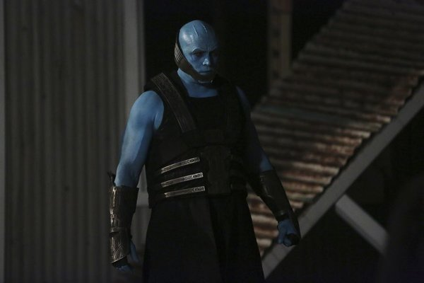 Kree from Marvels Agents of SHIELD - who have this weird, stalker like thing going for earthlings