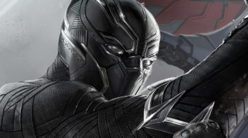 The cinematic version of the Black Panther - vibranium weave with accents