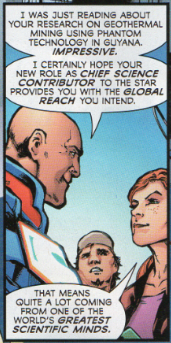 Lana Lang, Science Reporter for the Daily Star