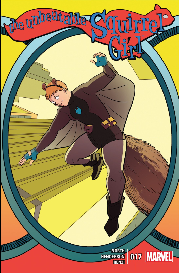 Squirrel Girl can fly!