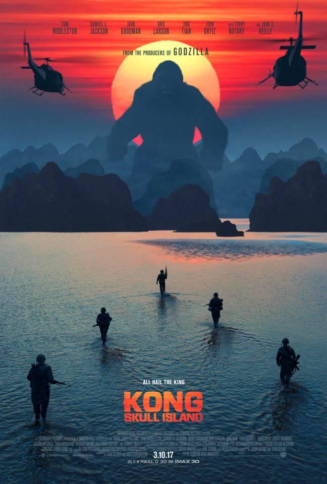 Kong is big. Really big