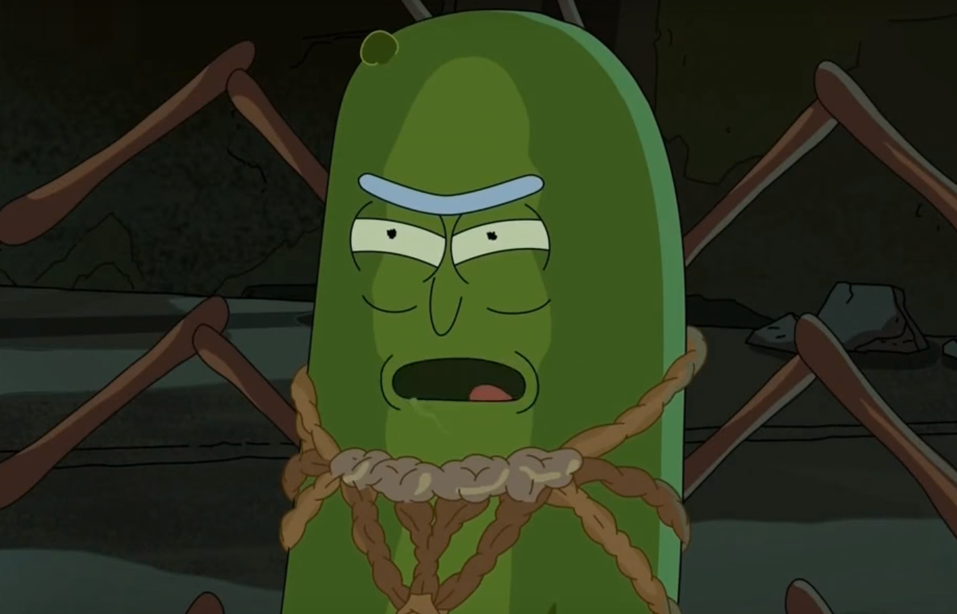 pickle rick and the science of cyborg cockroaches
