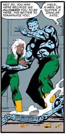 Wolverine's last bits.